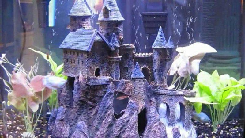 Aquarium Deko Schloss