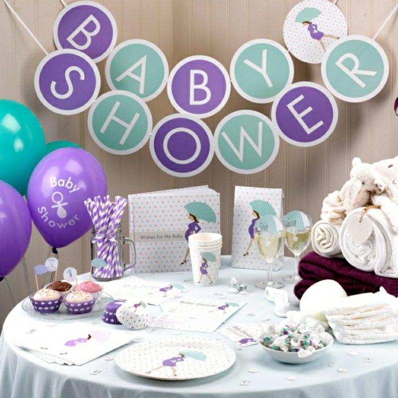 Babyparty Deko Luftballons Girlande Partymotto