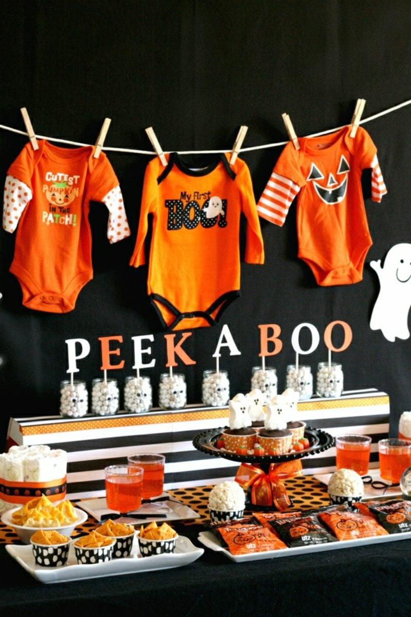 Babyparty Deko Ende Oktober Halloween