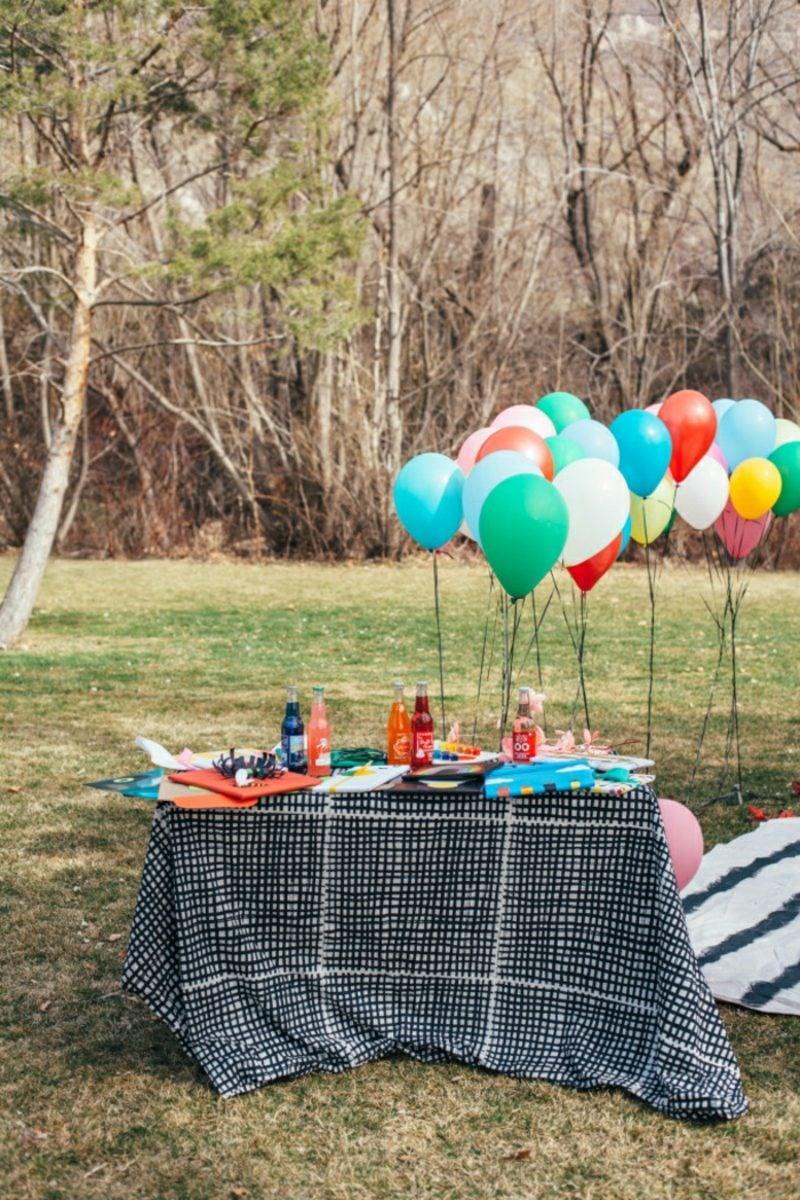 Babyparty Deko Outdoor Luftballons