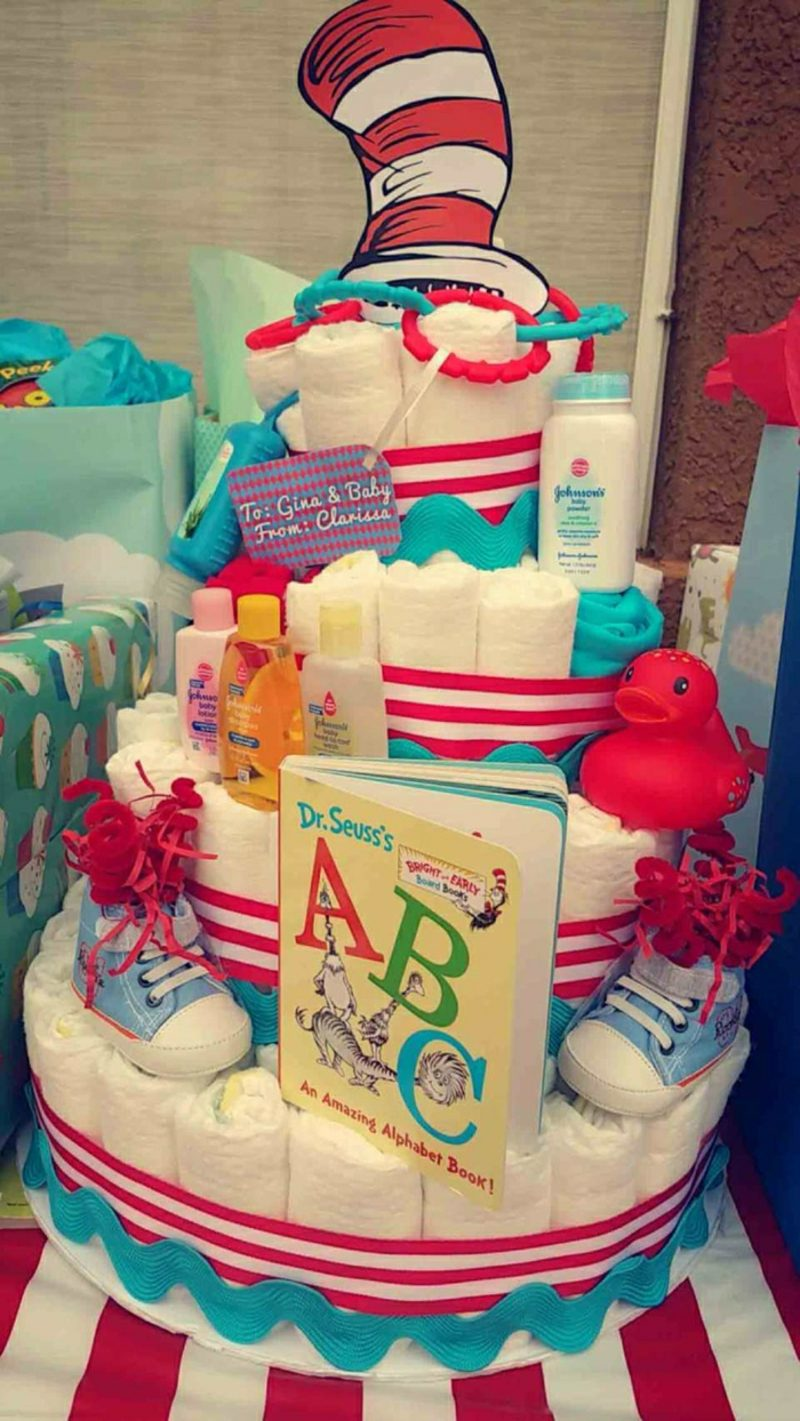 Babyparty Deko Windeltorte Pampers