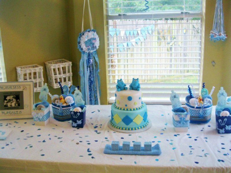 Babyparty Deko eindrucksvolle Torte
