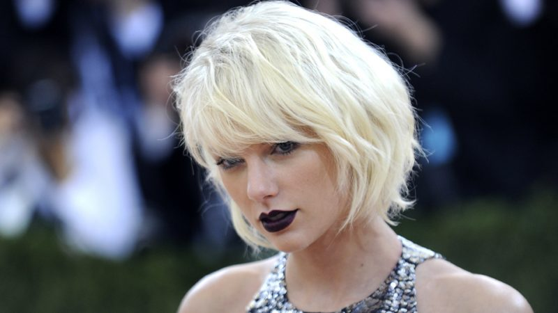 kurzer Bob Weissblond Taylor Swift