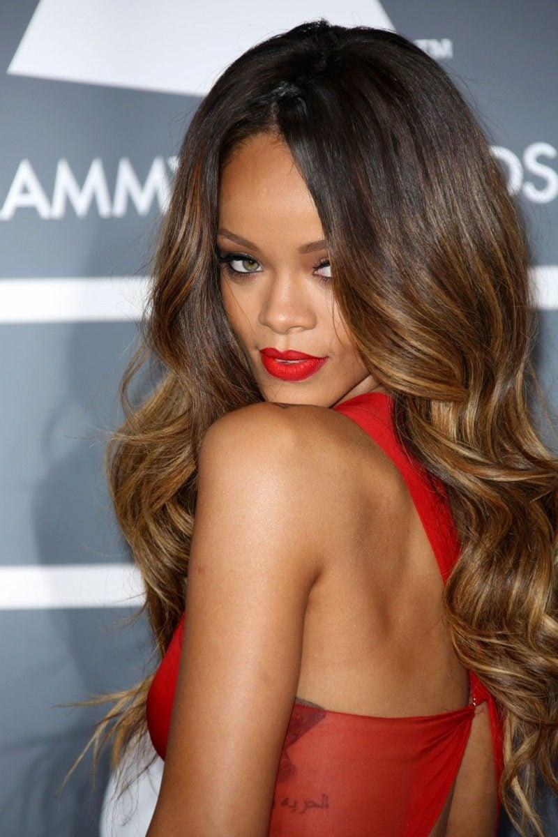 Ombre Braun Stars Rihanna