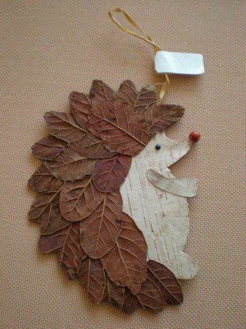Igel Basteln Mit Kindern Tolle Ideen Fur Den Herbst
