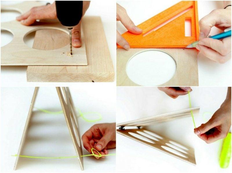Stilvolles Weinregal selber bauen: praktische DIY-Ideen
