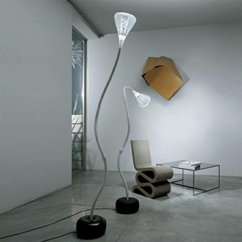 Stehlampen modern Fluter stilvoll