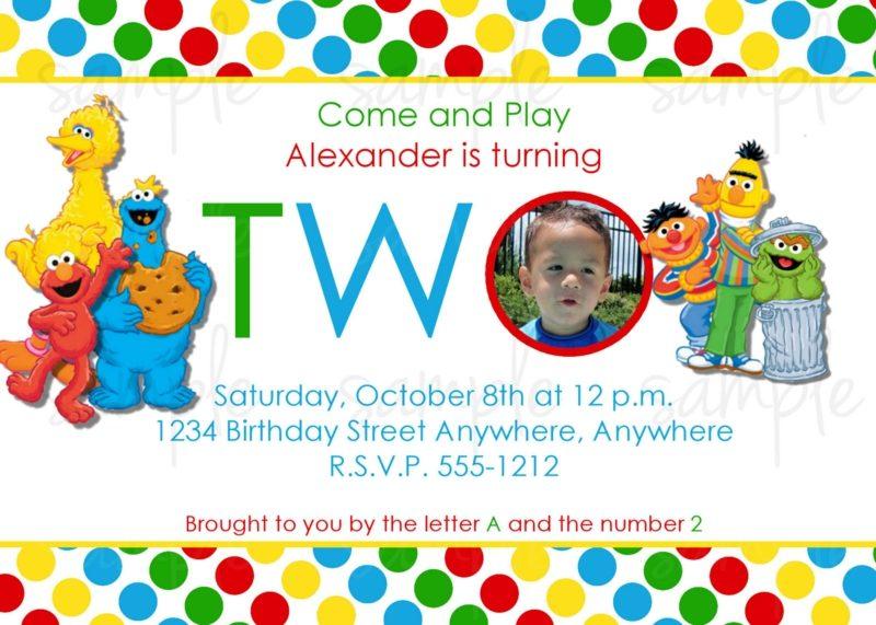 Einladung Kindergeburtstag zwei jahren mit Foto