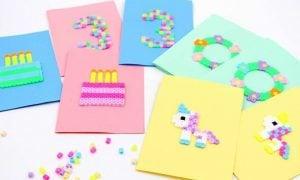 Einladung Kindergeburtstag inspirierende Bastelideen