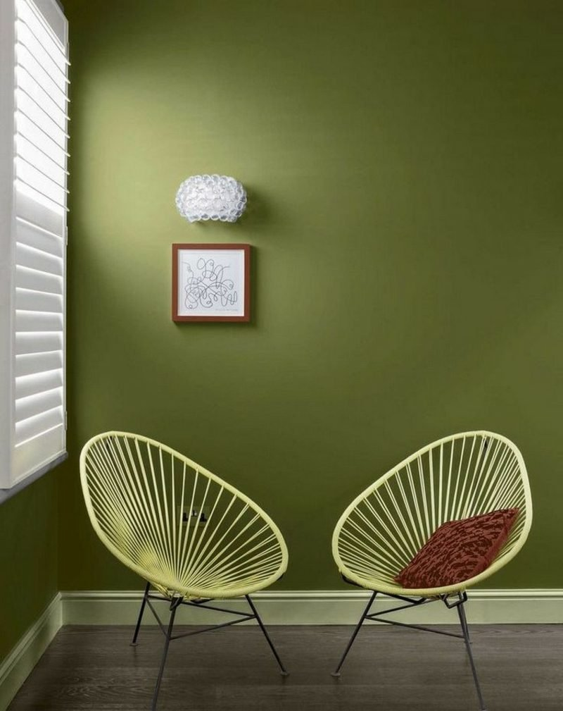 Farbe Salbei vs Olivgrün