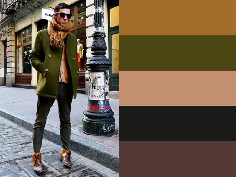 welche Farben passen zusammen Männer modern