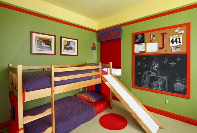 welche Farben passen zusammen Kontrastfarben im Interieur