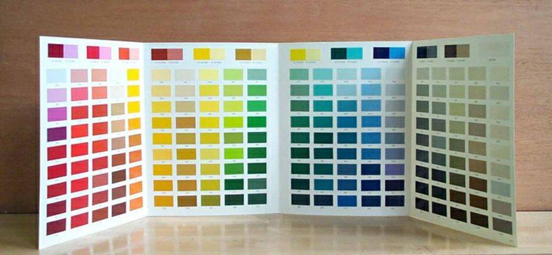 welche Farben passen zusammen Farbpalette