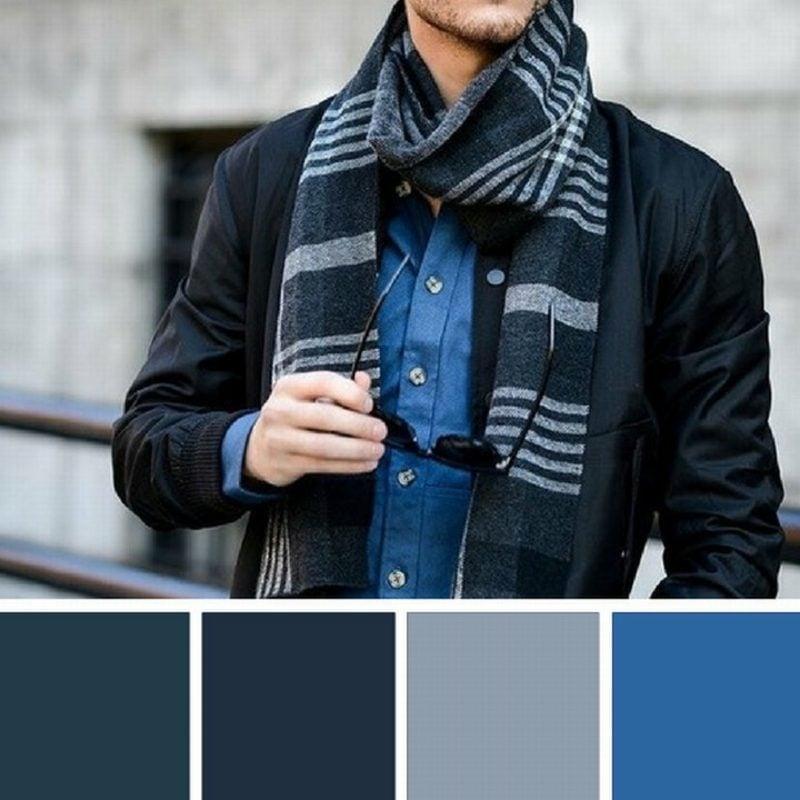 welche Farben passen zusammen Männermode