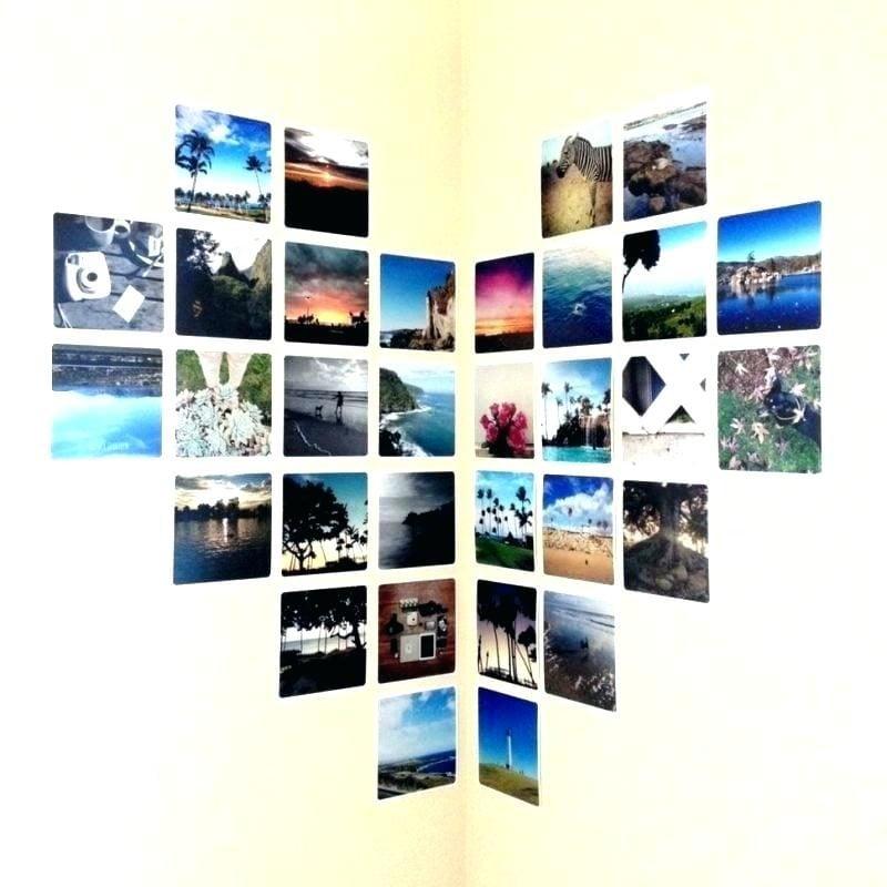 Fotowand gestalten ohne Bilderrahmen Ideen und Gestaltungstipps