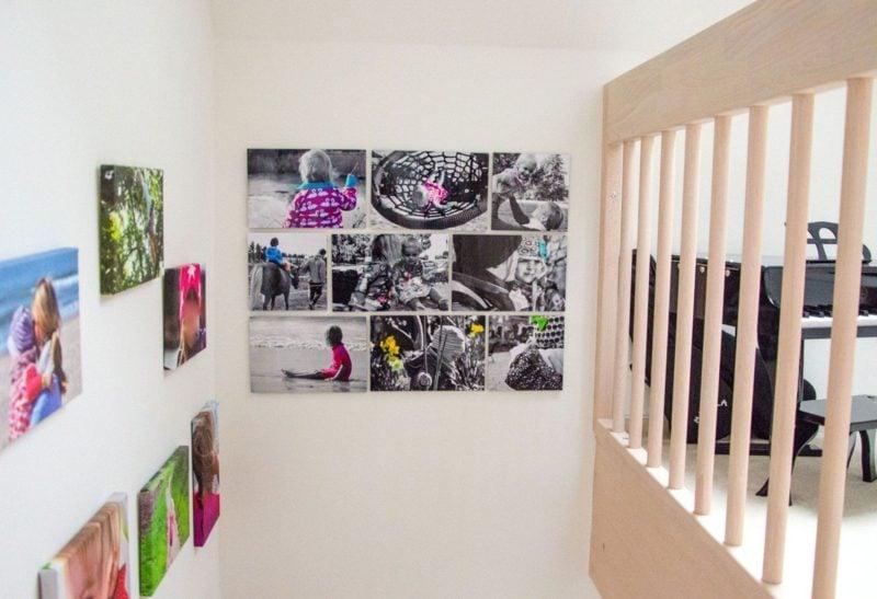 Fotowand gestalten ohne Bilderrahmen Tipps