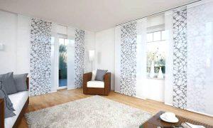 Gardinen Dekorationsvorschläge moderner Look Wohnzimmer