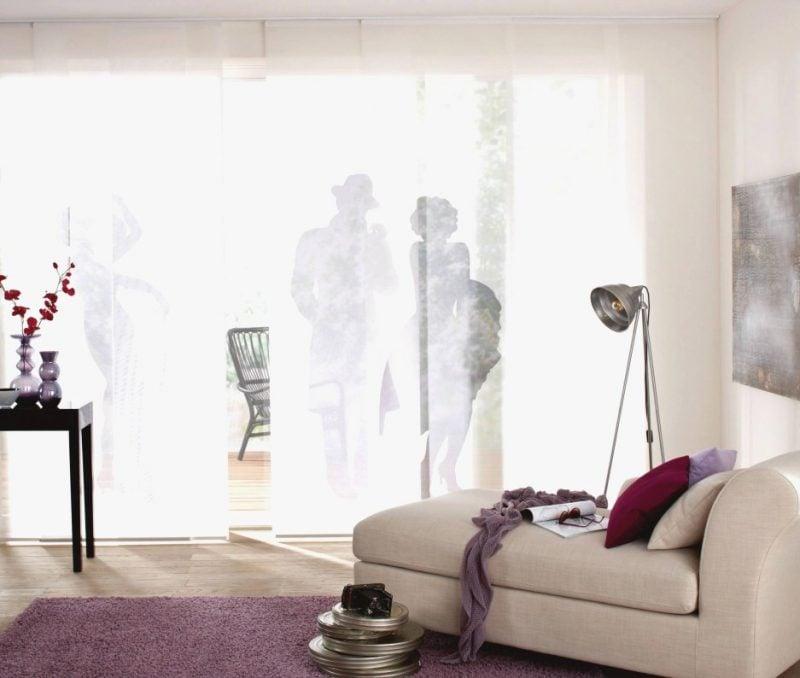 Gardinen Dekorationsvorschläge originell Silhouetten