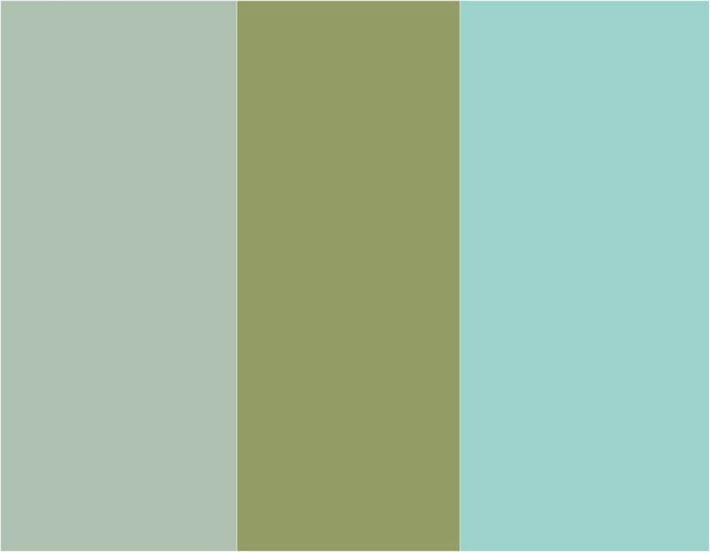 Farbe Salbei angesagte Grüntöne