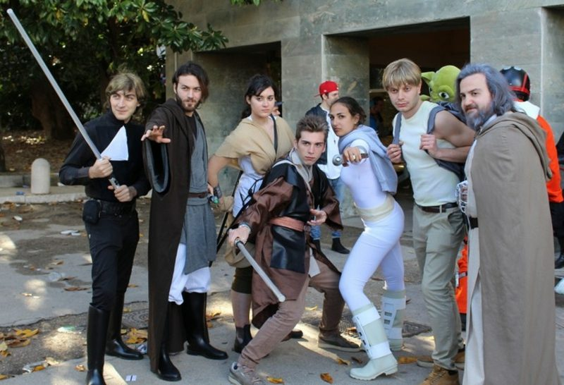 Star Wars Kostüm Gruppe toller Look