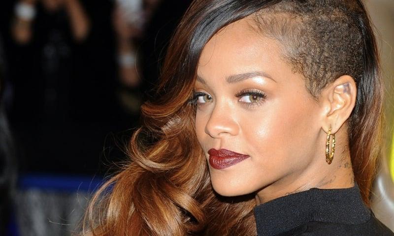 Ombre Braun moderne Frisur Rihanna