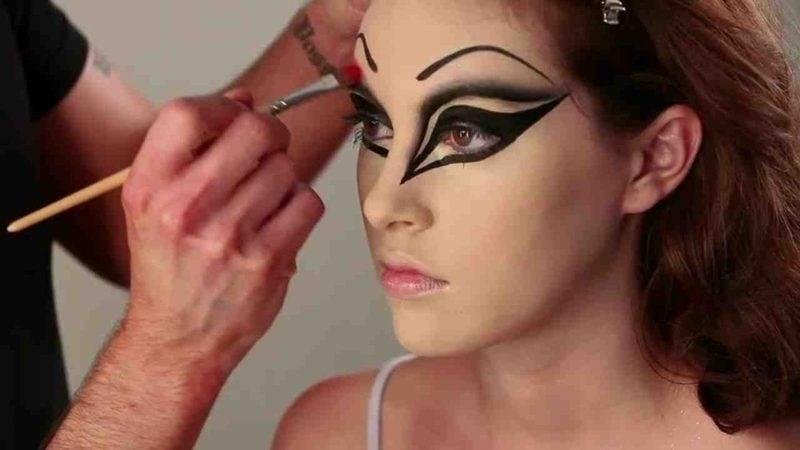 Halloween Make up einfach tolle Ideen Damen