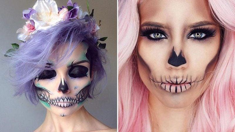 Halloween Make up einfach Zombie eindrucksvoll