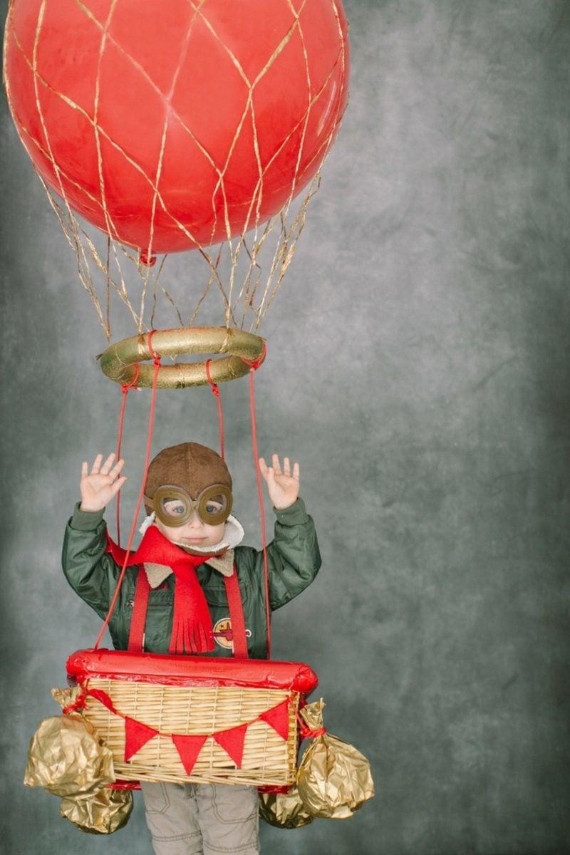 Heiβluftballon basteln den Kindern Freude machen