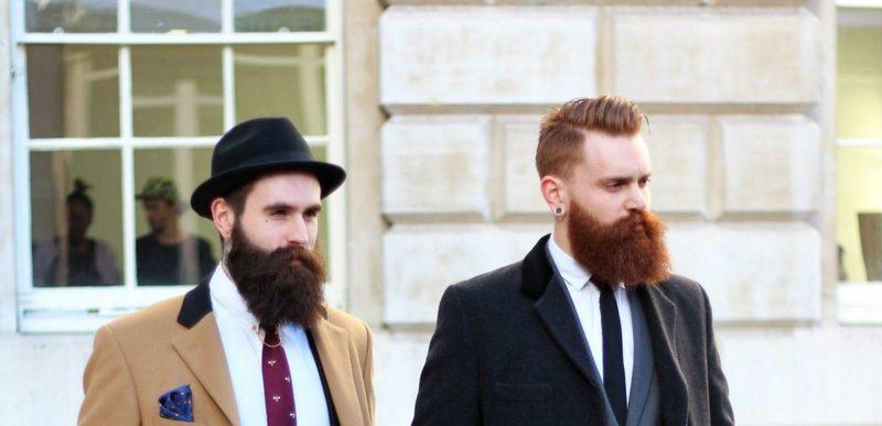 trendige Bartfrisuren Hipster Bart