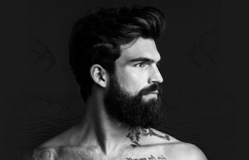 Bartfrisuren modern Hipster Bart tragen