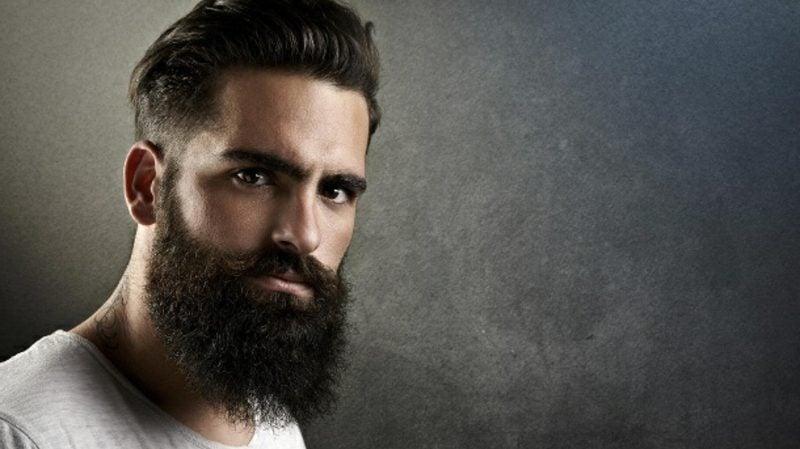 Bartfrisuren modern Hipster bart