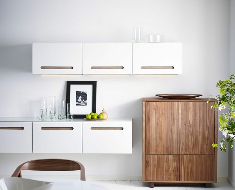 Küchenregale Ikea Besta Regale Wand