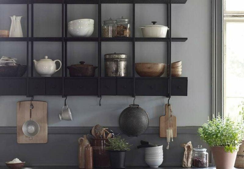 Küchenregale praktische wandregale von Ikea