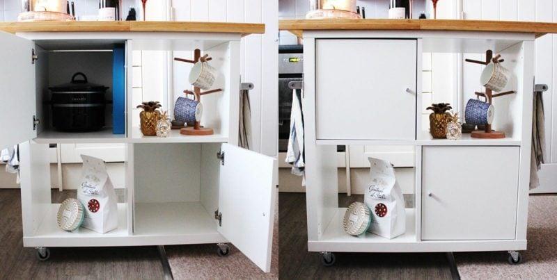 Küchenregale Ikea Kochinsel selber machen
