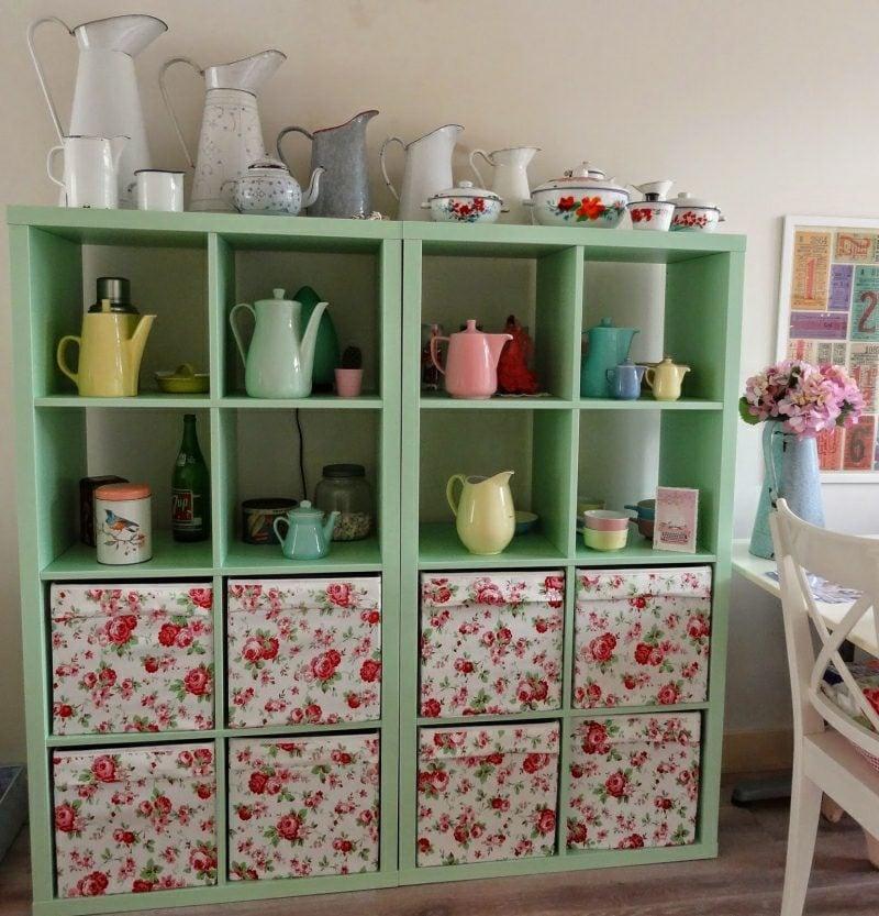 Küchenregale Ikea Kallax Regale dekorativ System