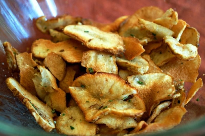 Actifry Rezepte Kartoffelchips mit Rosmarin