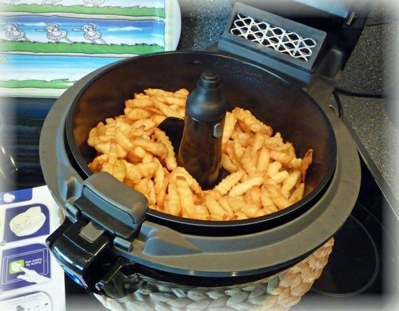 Actifry Rezepte Kartoffelspalten gesund mediterran