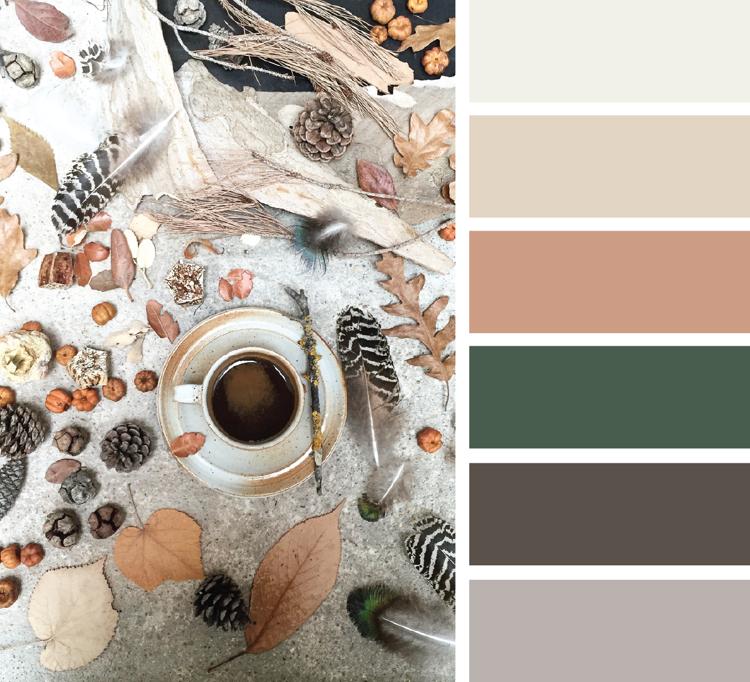 Khaki Farbe gelungen kombinieren Neutralfarben