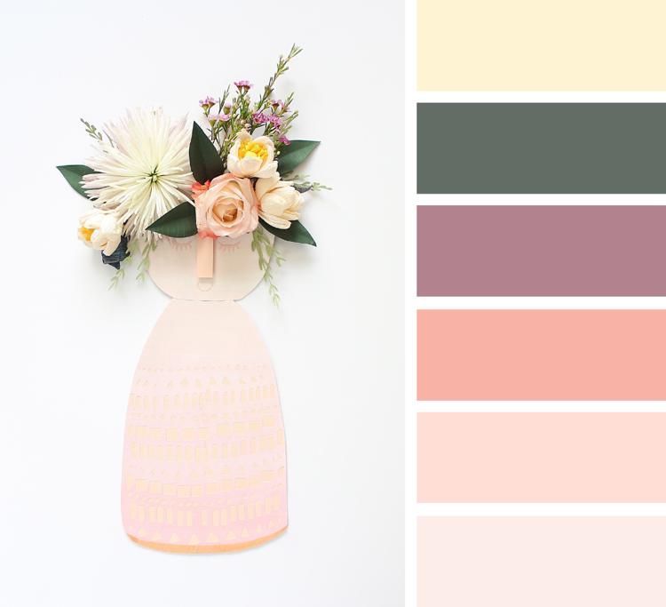 Khaki Farbe gelungen kombinieren Pastellnuancen