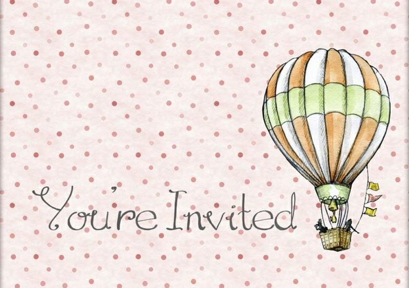 Einladung Kindergeburtstag Luftballon