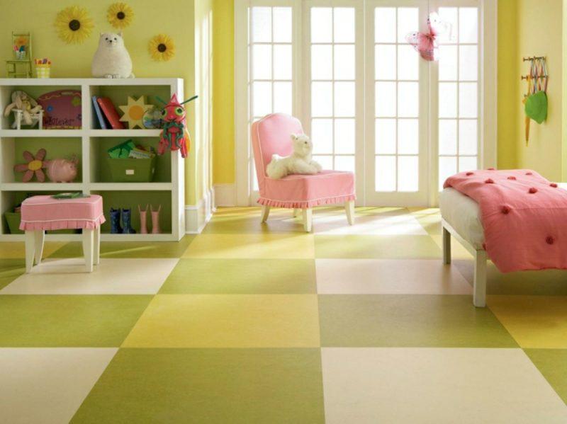 Kinderzimmer streichen warme Pastellnuancen