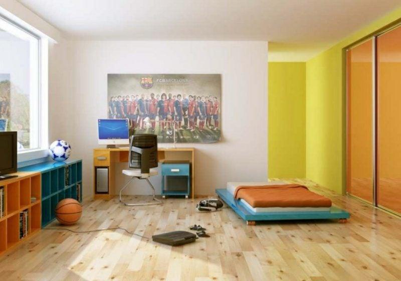 Kinderzimmer streichen Warmfarben