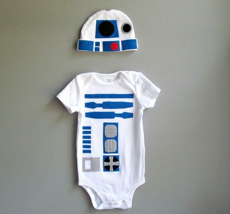 Star Wars Kostüm Baby R2 D2