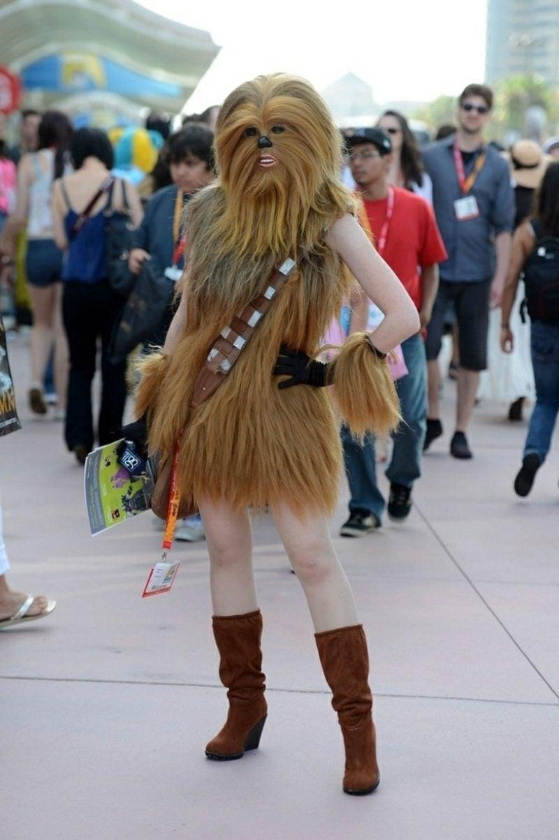 Star Wars Kostüm Chewbacca Frau