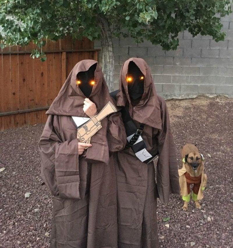 Star Wars Kostüm originell Jawa