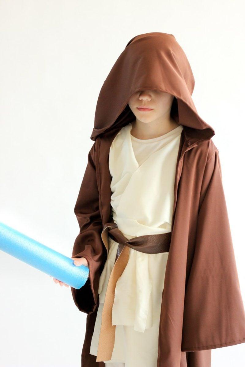 Star Wars Kostüm Kind Jedi Lichtschwert