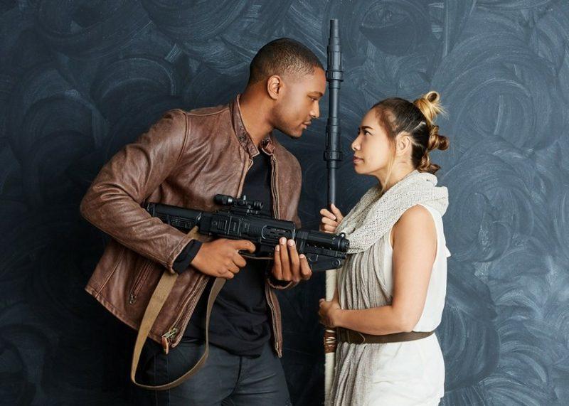 Star Wars Kostüm Partner Rey und Finn