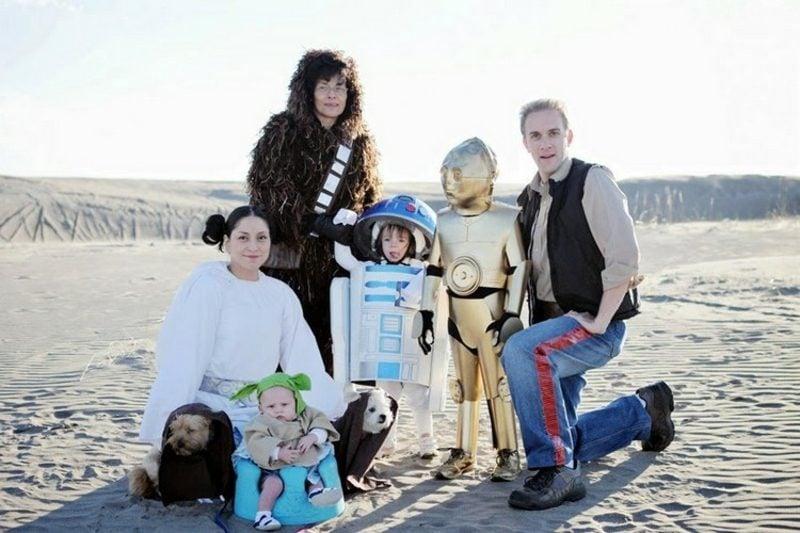 Star Wars Kostüm Familie