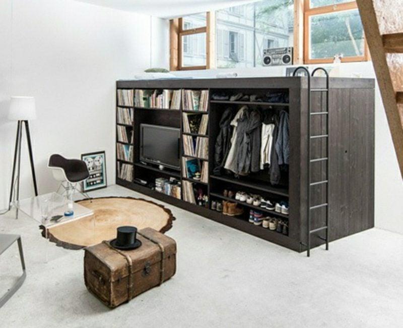 platzsparende Möbel Designer modern multifunktional