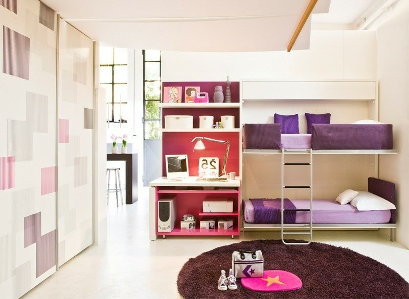 platzsparende Möbel Designer Etagenbett modern